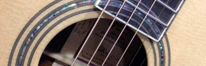 La preziosa D45 di John Mayer