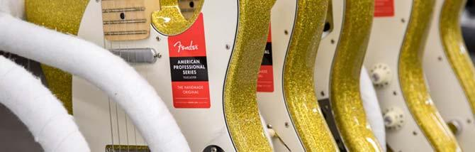 Fender regala Gold Sparkle per le nomine ai Grammy