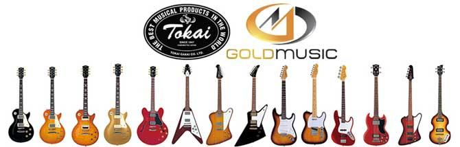 Tokai in Italia con Gold Music