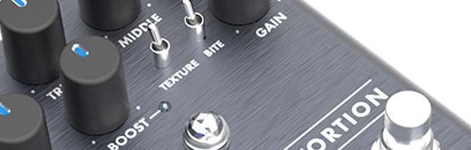 Boost, fuzz e distorsore da Fender
