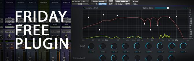 Friday Free Plugin - 2nd Sense Audio 2S EQ