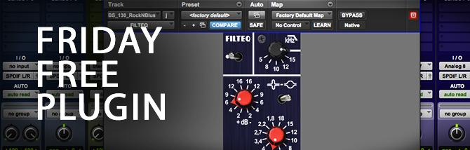 Friday Free Plugin - Analog Obsession Filteq