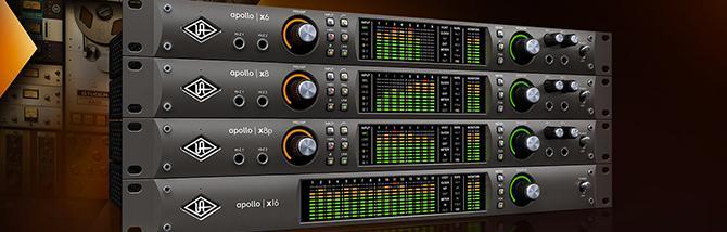 Presentazione delle nuove interfacce Apollo X di Universal Audio