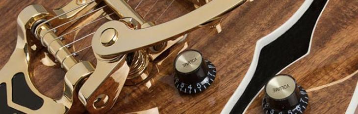 Epiphone Les Paul e Wildkat si vestono di koa