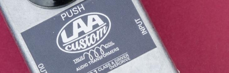 CN81 Push: trasformatori custom per l'overdrive LAA Custom