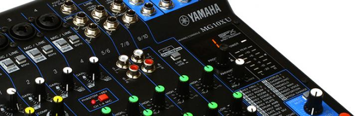 Yamaha MG10XU : un mixer come scheda audio?