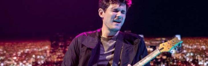 John Mayer e PRS al lavoro su una Strat-style?