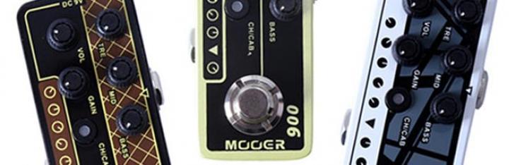 Mooer Micro Preamp: ascolta dieci ampli in pedaliera