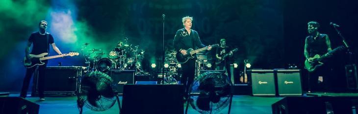 Offspring, Millencolin & Rumatera dal vivo.