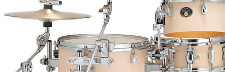 Il kit Tama Cocktail-Jam entra in borsa e riceve il Sound Focus Pad