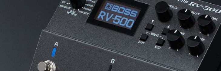 RV500: testato il super riverbero programmabile Boss