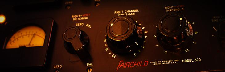 Studio Icon: Fairchild 670 Stereo Tube Compressor/Limiter