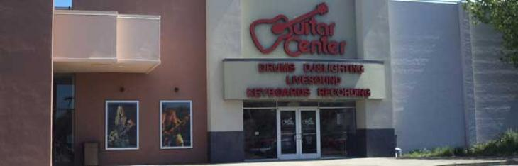 Il default di Guitar Center: una voragine che vale 1/5 del mercato