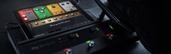 iRig Stomp I/O: da IK il controller mobile definitivo