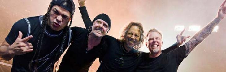 I Metallica omaggiano Vasco sul palco e arrivano i fischi