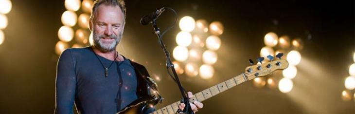 5 date italiane per il tour estivo di Sting