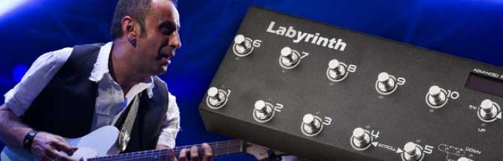 Tutto il rig in 10 switch: Riccardo Corso spiega la Labyrinth