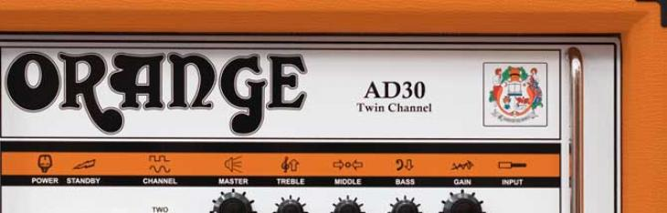 Orange fa ascoltare l'AD30 Twin Channel