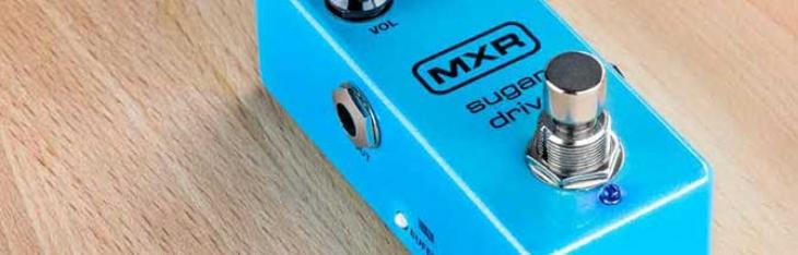Sugar Drive: overdrive mitologici in salsa MXR