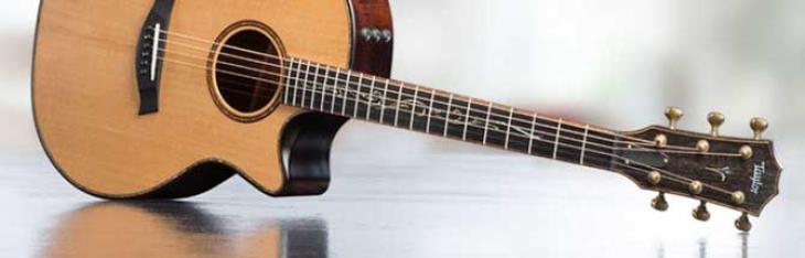 Taylor K14CE, opera d'arte a forma di chitarra