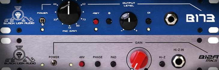 Black Lion Audio B173 & B12A MkII Vs. AMS Neve 1073DPA & API 512C