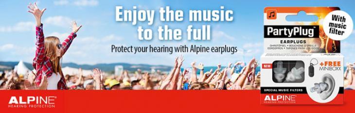 Alpine nella stagione dei festival