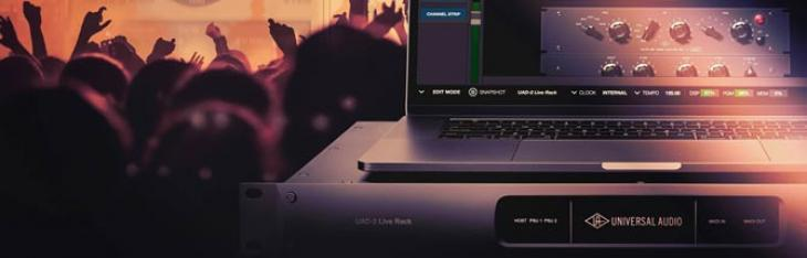 UAD-2 Live Rack: mix e plugin da studio ora anche dal vivo