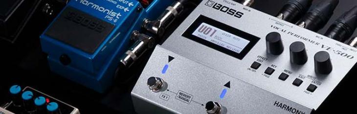 VE500: multieffetto Boss per il chitarrista cantante