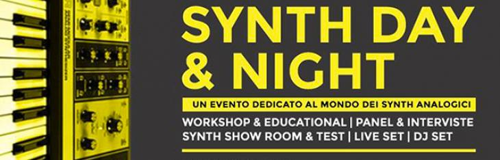 Sabato 8 Settembre Synth Day & Night a Milano!