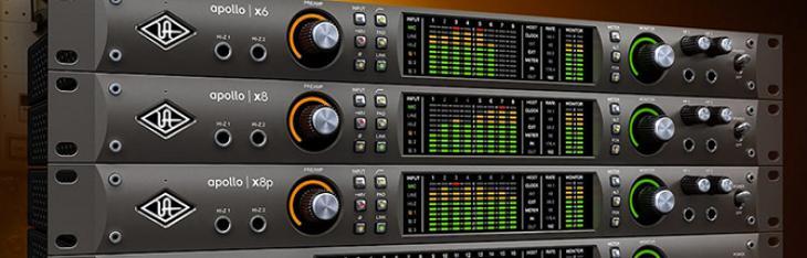 Universal Audio presenta le nuove interfacce audio Apollo X Thunderbolt 3