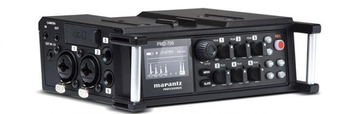 Marantz PMD 706: DSLR recording made easy