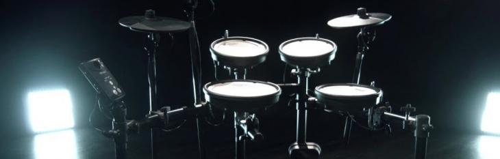 Roland V-Drums TD-1DMK: robusta, silenziosa, versatile.