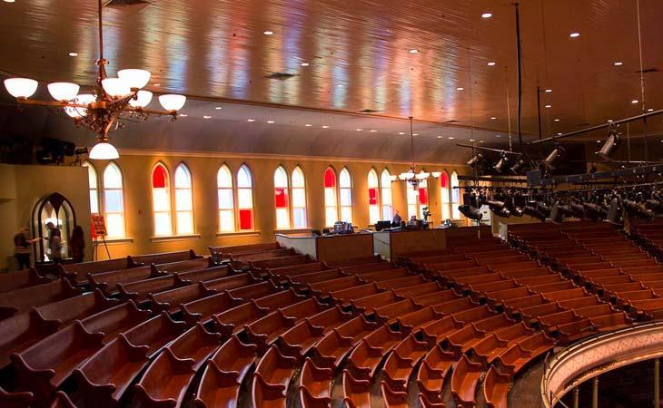 Ryman Auditorium: la chiesa americana della musica live