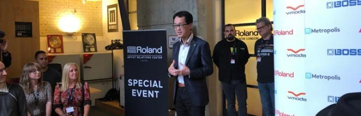 Roland inaugura il Roland Artist Centre di Londra
