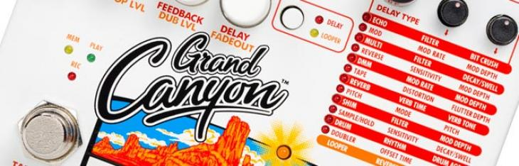 12 delay, loop e suoni stereo da EHX nel Grand Canyon