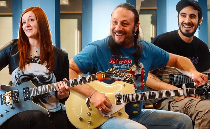 Parola d'ordine: chitarra ritmica. Rock, Metal & Djent