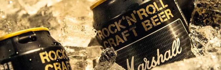 Rock'n'Roll: tre birre firmate Marshall