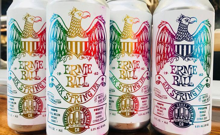 Anche Ernie Ball si dà alla birra