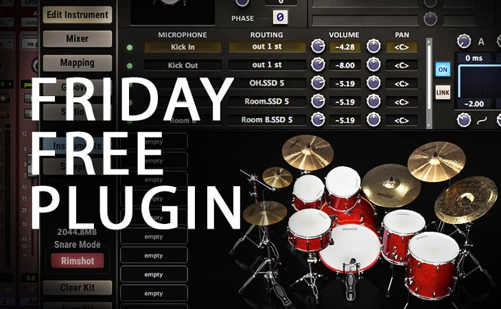 Friday Free Plugin - Steven Slate SSD5 FREE