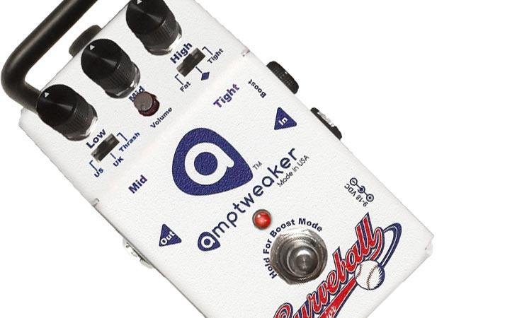 Curveball Jr: l'eq-boost che fa l'amplificatore