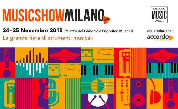 SHG Music Show Milano al via: il 24 e 25 novembre 2018
