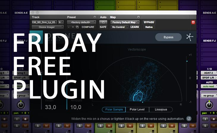 Friday Free Plugin - iZotope Ozone Imager
