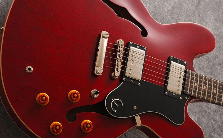 Epiphone DOT: budget archtop