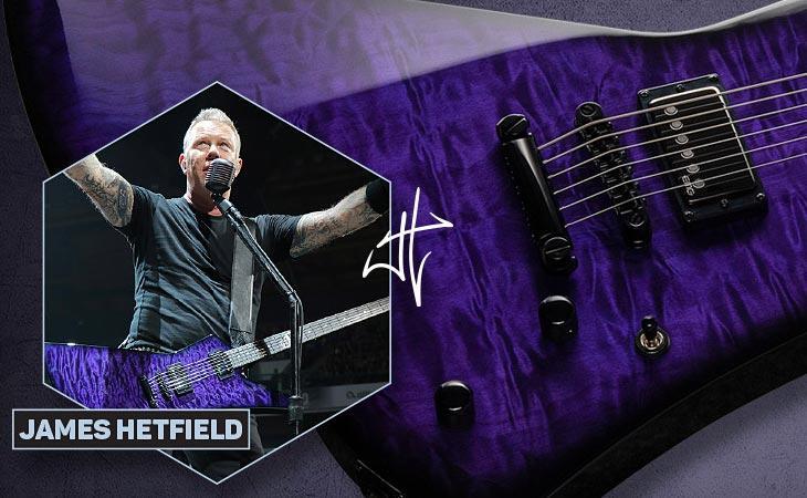LTD Snakebyte: la ESP baritona di James Hetfield