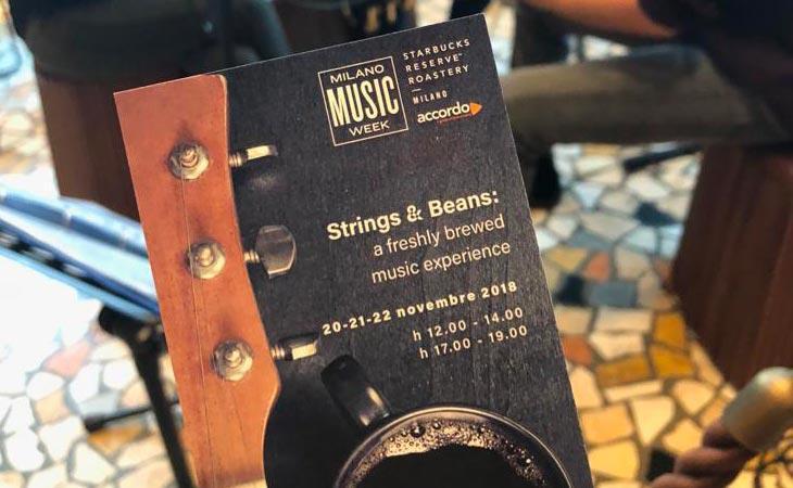 Accordo e Starbucks per Milano Music Week: musica, busker e una sorpresa