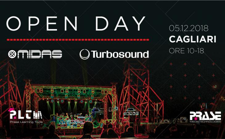 Open Day Midas e Turbosound a Cagliari