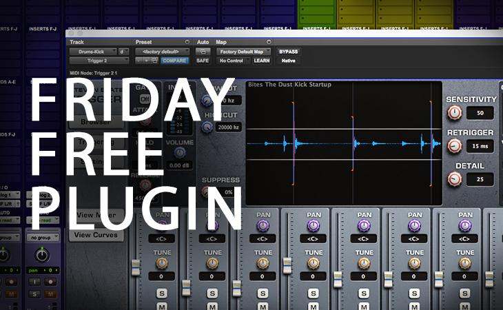 Friday Free Plugin - Bites The Dust drum sample pack