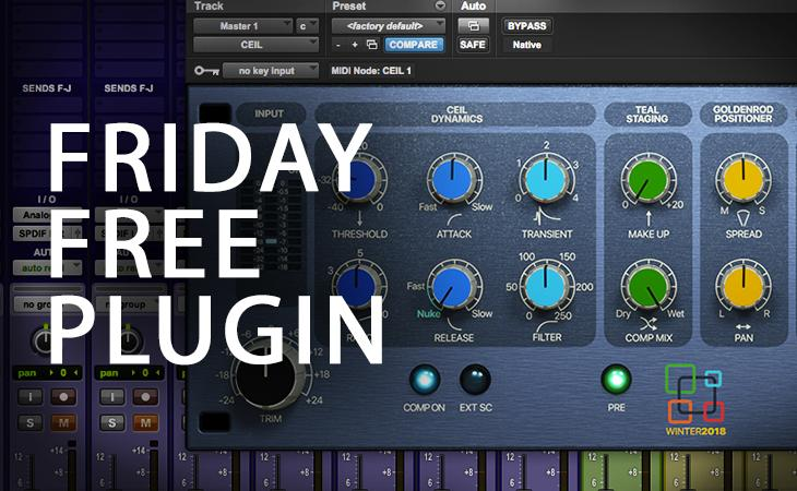 Friday Free Plugin - Acustica Audio Ceil