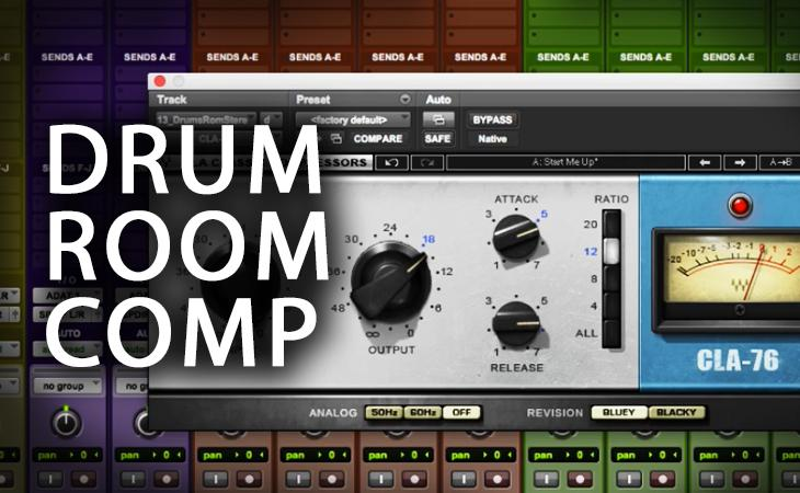 Quick Tutorial - Drum Room Compression