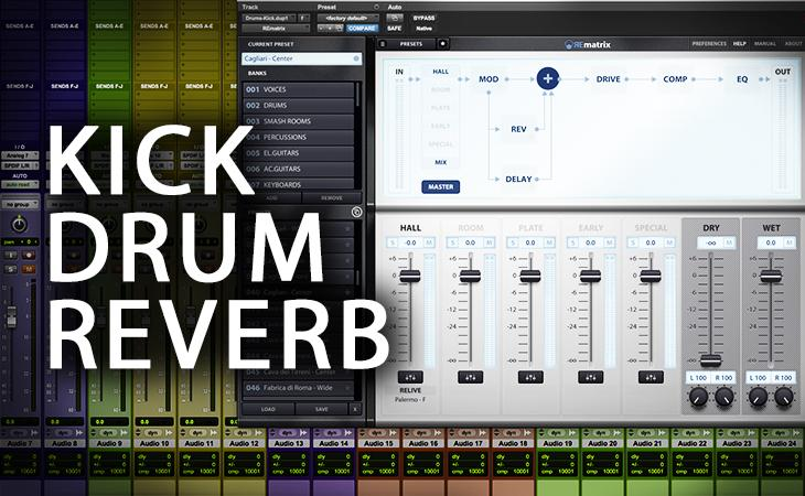 Quick Tutorial - Kick Drum Reverb